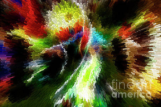 Vivian Christopher - PowWow Dancer Abstract