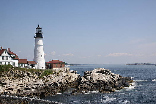 Portland Head Lighthouse 2 by Gerald Mitchell
