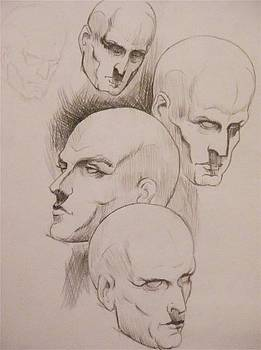 Practice Heads by Jared Kendall
