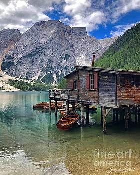 Pragser Wildsee view by Jacqueline Faust