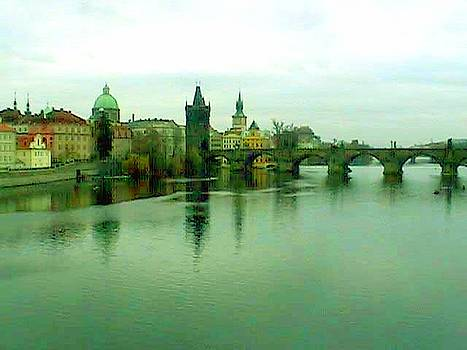 Prague  1 jGibney 2000 City Bridge 2010 by  jGibney