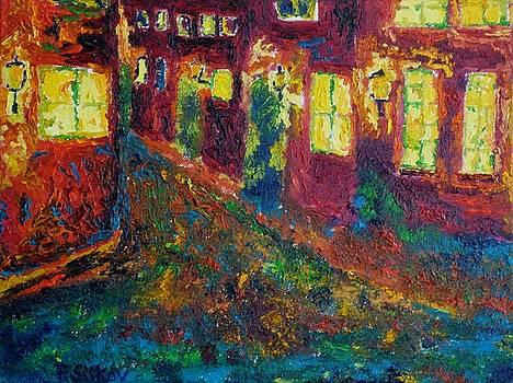 Prague At Night by Peter Silkov