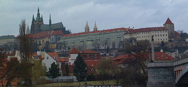 Prague Castle in Prague Czech Republic by Paul Pobiak