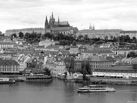 Prague Castle by Keiko Richter