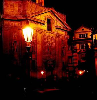 Prague Lamp by Peter Silkov