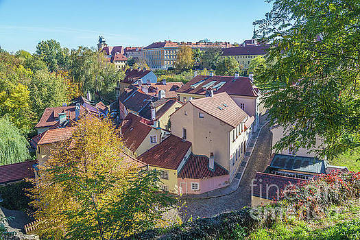 Prague Mala Strana in the autumn by Travel and Destinations - By Mike Clegg
