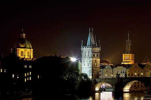 Colin Cuthbert - Prague Night Skyline