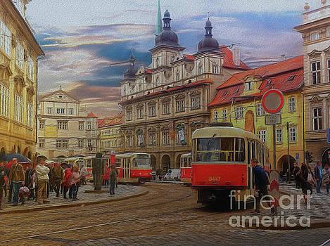 Prague, Old Town, Street Scene by Leigh Kemp