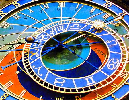 Prague Orloj by Andreas Thust