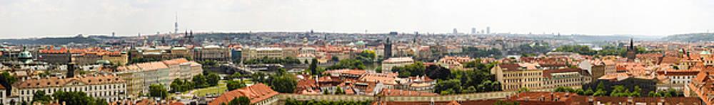 Prague Panorama 01 by Vladimir Jovanovic