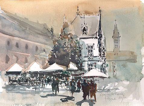 Prague Piazza 2 by Gaston McKenzie