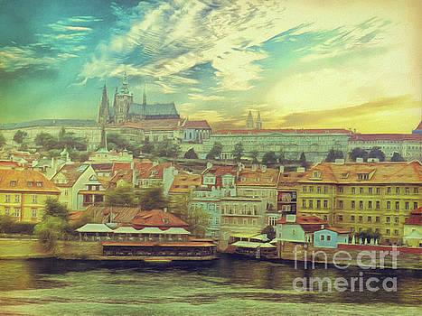 Prague Riverview by Leigh Kemp