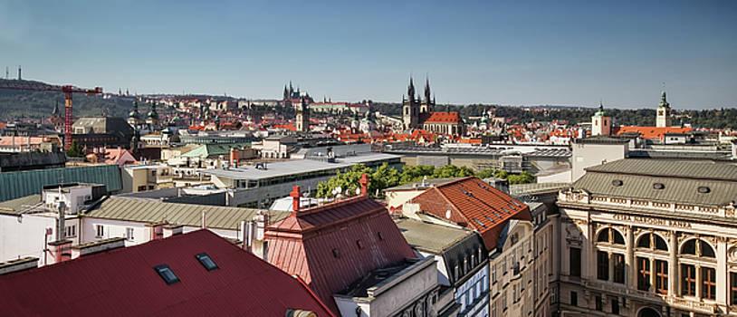 Colin Cuthbert - Prague Skyline