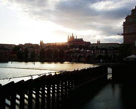 Prague Sunset by Peter Silkov