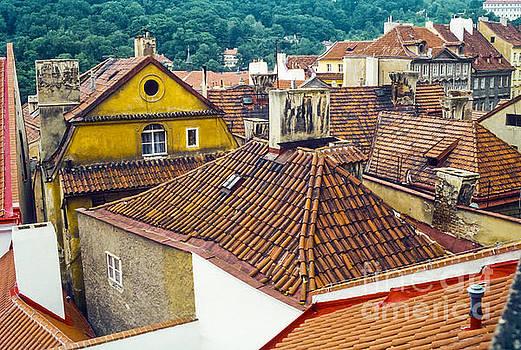 Bob Phillips - Prague Tiled Rooftops
