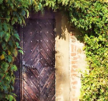 Praha Garden Door by Shawn Wallwork