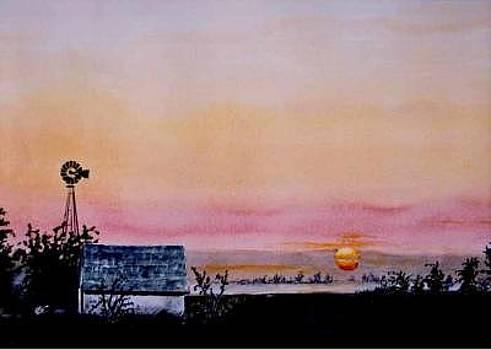 Praire Sunrise by Kris Killman