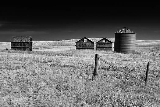 Prairie farm by Celine Pollard