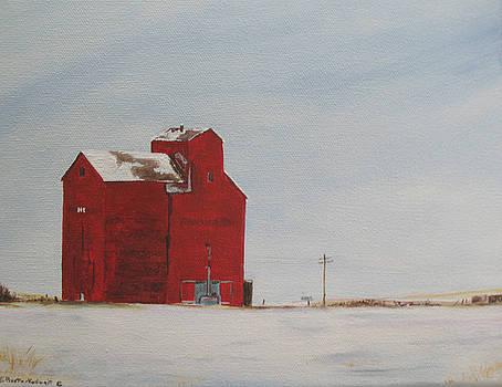 Prairie Giants I  by Elaine Booth-Kallweit