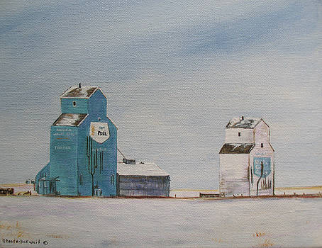 Prairie Giants II by Elaine Booth-Kallweit