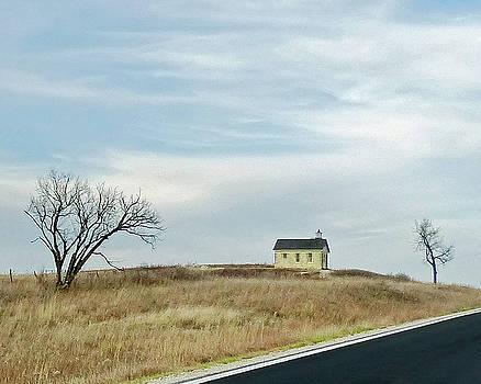 Prairie Schoolhouse by Carl Sheffer