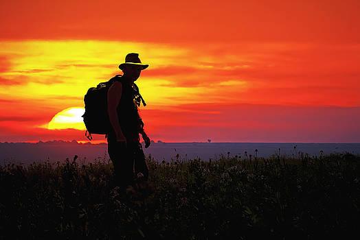 Prairie Sundown by Keith Bridgman