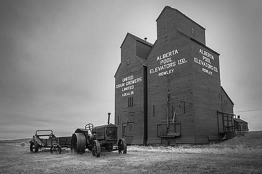 Prairie Watchtowers by Wayne Stadler