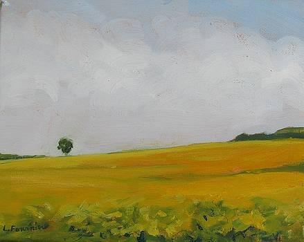 Prairies 4 by Liliane Fournier