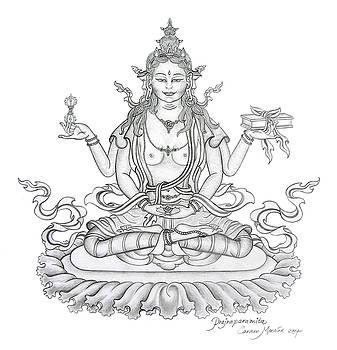 Prajnaparamita -Perfection of Wisdom by Carmen Mensink