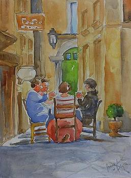 Pranzo al fresco by Janet Butler