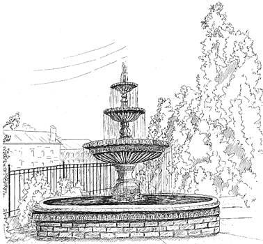 Prattville Fountain by Barney Hedrick