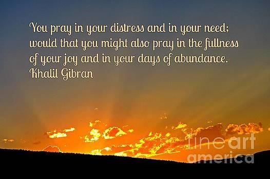John Malone - Pray Abundantly