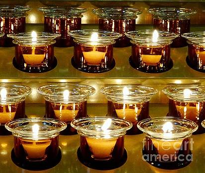 Prayer Candles by Paul Wilford