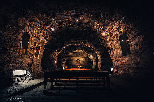 Prayer in the Mines by Jose Vazquez