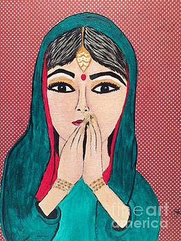 Prayer IV by Julie Crisan