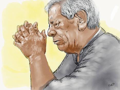 Prayer of a Righteous Man by Antonio Romero