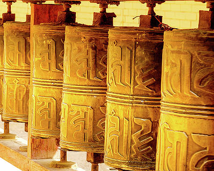 Prayer Wheels by Emily M Wilson