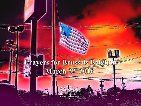 Prayers for Brussels #9726_3 by Barbara Tristan