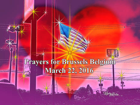 Prayers for Brussels #9726_4 by Barbara Tristan