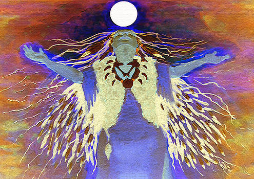 Praying Goodnight to the Moon by Vallee Johnson
