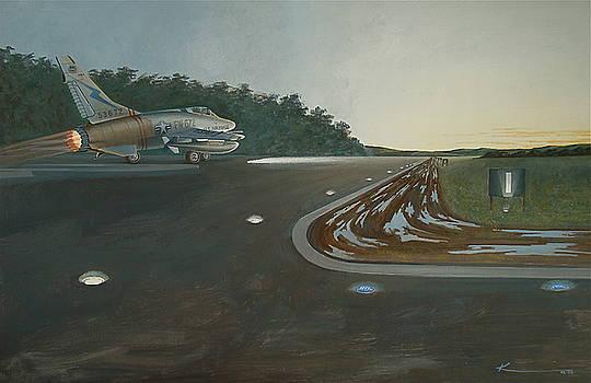 Pre-dawn take off. by  Keith Kochenour
