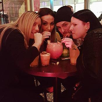 Pre-gig Drinks #family #cocktails by Natalie Anne