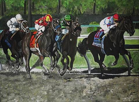 Preakness 2010 Horse Racing by Kim Selig