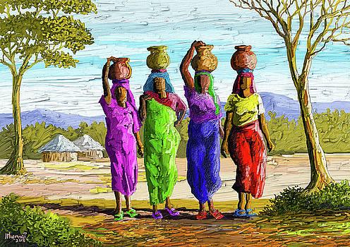 Precious Water by Anthony Mwangi
