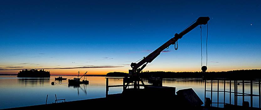 PreDawn Light Lubec Maine by Marty Saccone