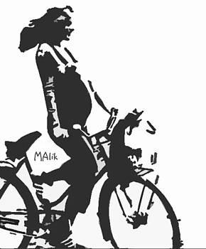 Preggerz on Bike by Joey MAlik