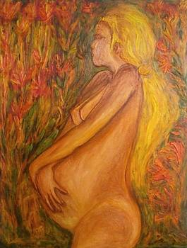 Pregnant Nude by Michaela Kraemer