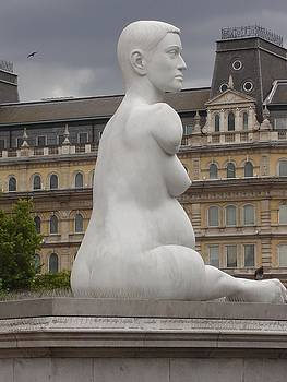 Pregnant Woman by Kimberly Hill