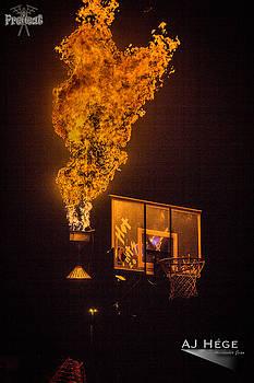 PreHeat 2015 Fire Hoop by AJ Hege