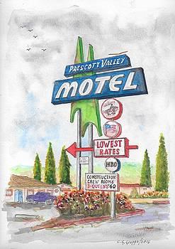 Prescott Valley Motel in Prescott, Arizona by Carlos G Groppa